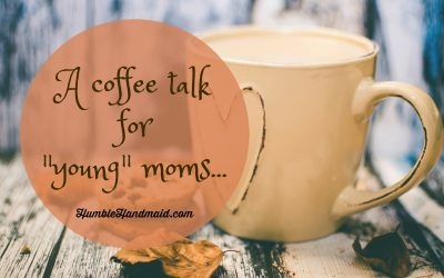"A coffee talk for ""young"" moms"