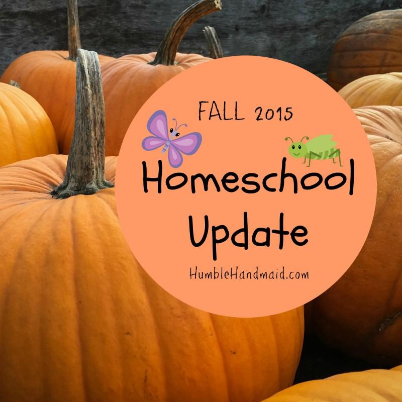 Homeschoolupdatefall2015