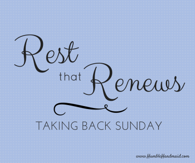 Rest that renews