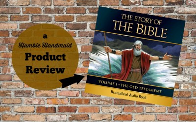 What to do when your kids don't like reading Bible stories {Review & Giveaway!}