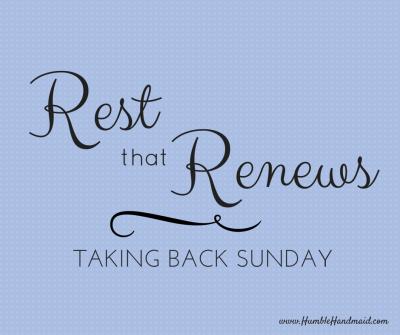 Rest that renews