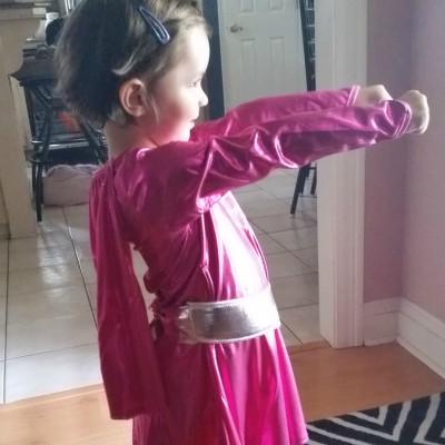 My superhero homeschooler